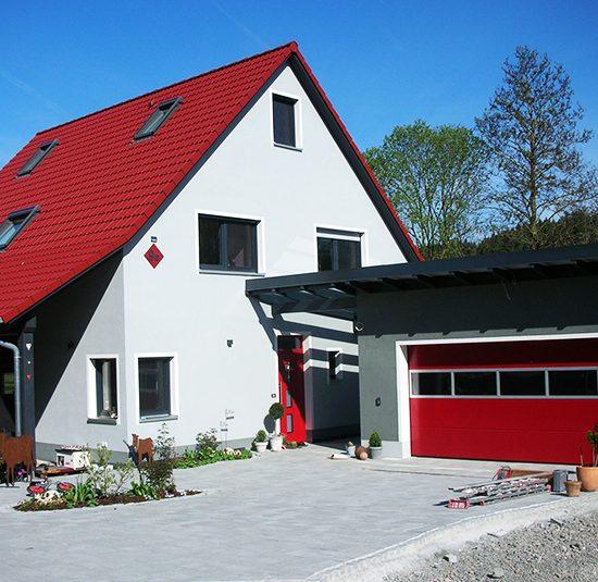 Ausbauhaus Schlüsselübergabe