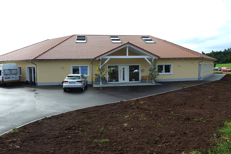 Neubau Verwaltungsgebäude Kneitschel Heilsbronn