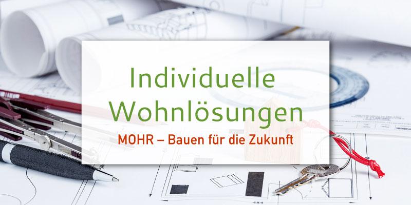 Individuell bauen - Neubau - Anbau - Wohnung