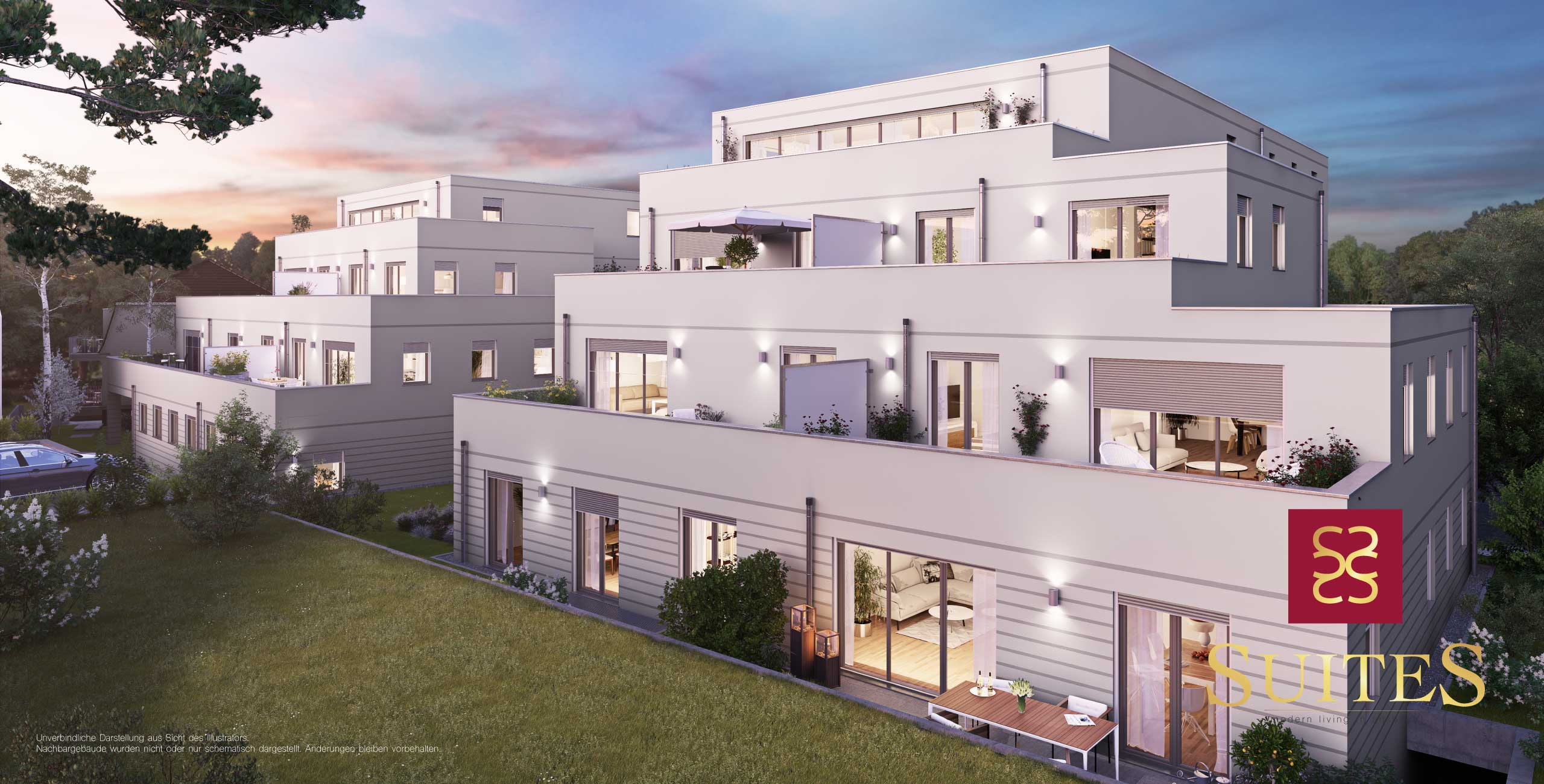 Neubau Eigentumswohnung Kapitalanlage Penthouse Alte Poststraße Ansbach SUITEs
