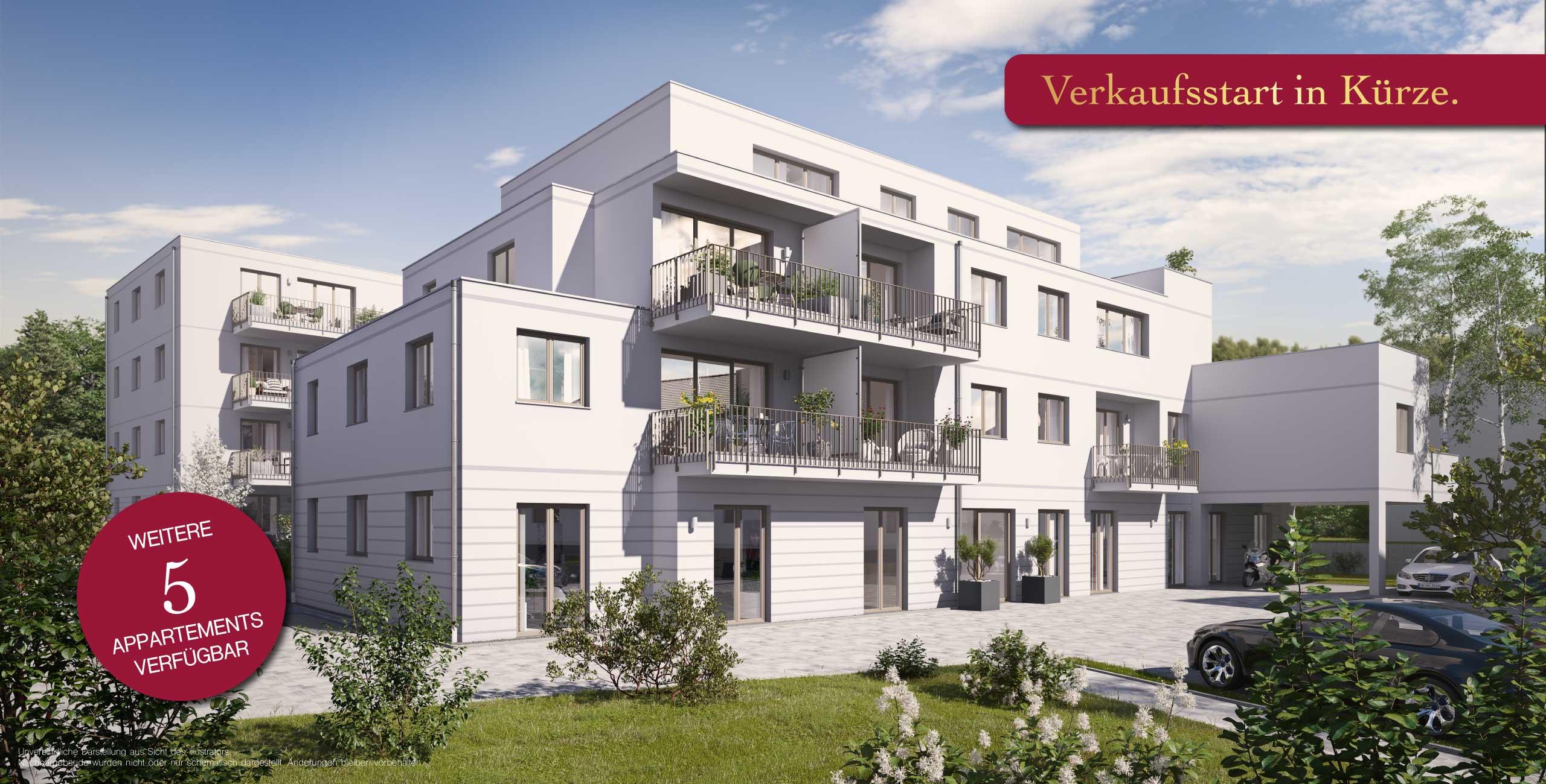 Ansbach SUITES Appartements Alte Poststraße Neubau 3-Zimmer-Wohnung Studentenappartement