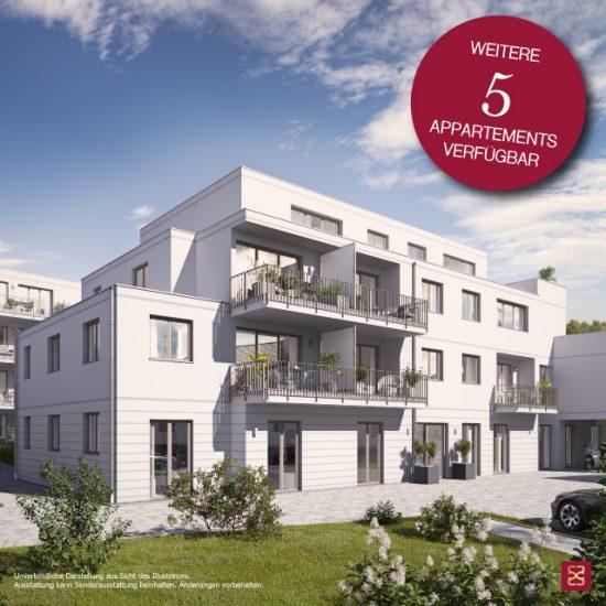 SUITES Appartements –Weitere Neubau Eigentumswohnungen