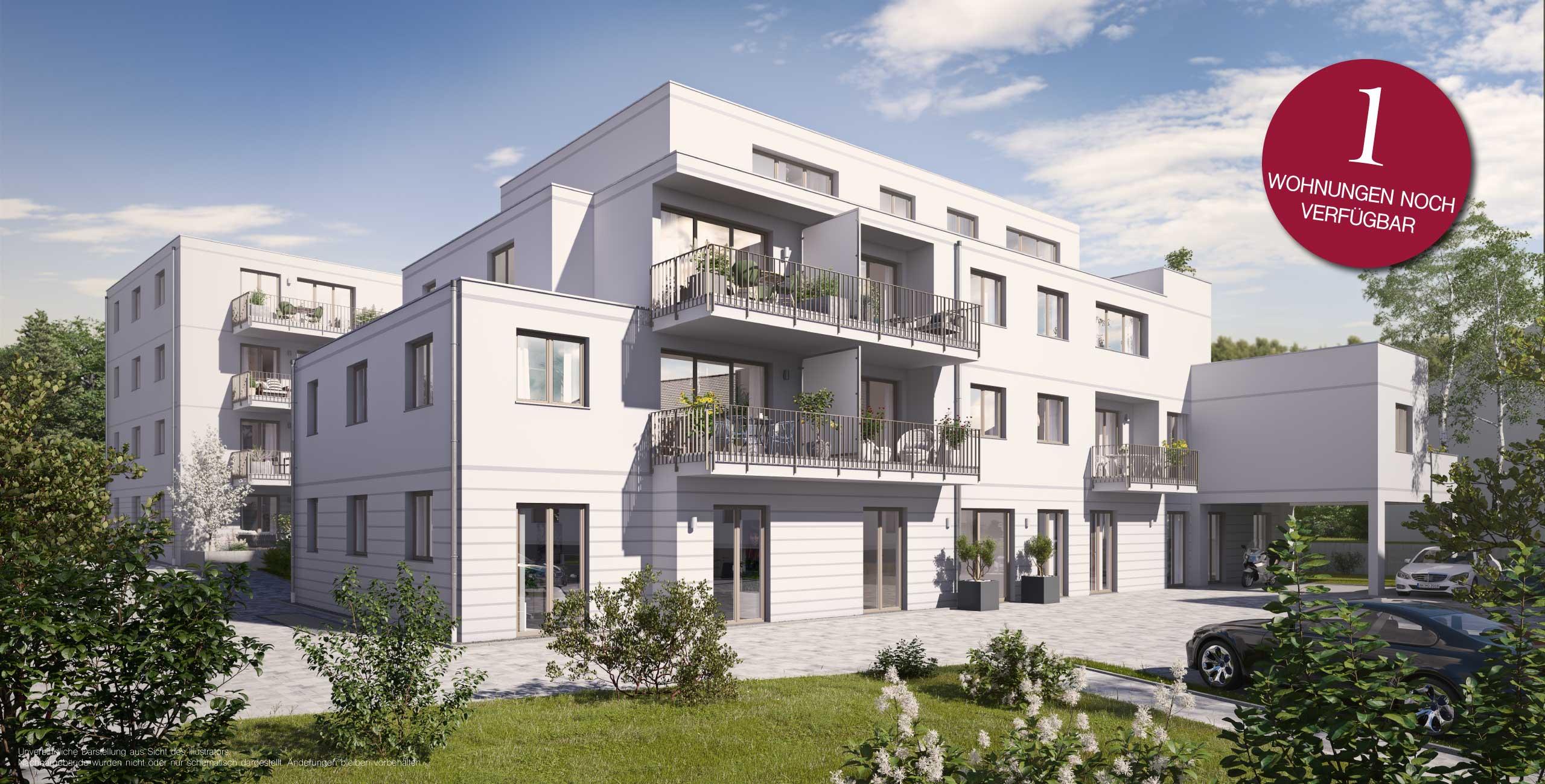 Alte Poststraße Ansbach SUITES Eigentumswohnungen Neubau