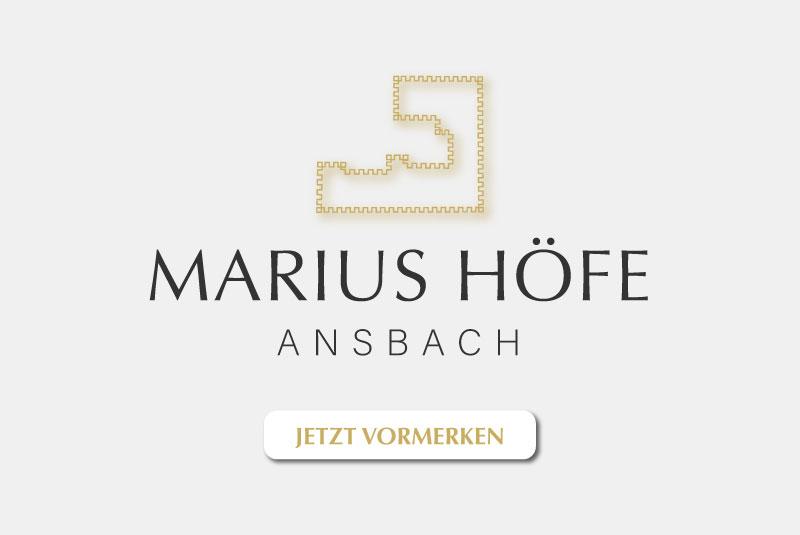 Neubau Eigentumswohnungen Ansbach MARIUS HÖFE