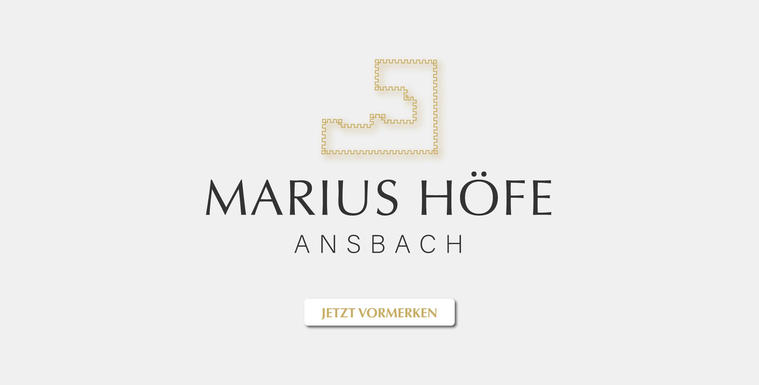 Marius Höfe Neubau Eigentumswohnungen Ansbach